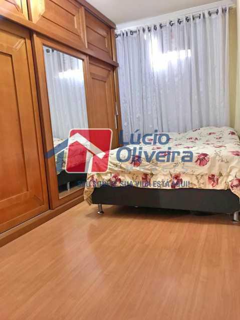 quarto maior. - Apartamento à venda Rua Debussy,Jardim América, Rio de Janeiro - R$ 175.000 - VPAP21520 - 17