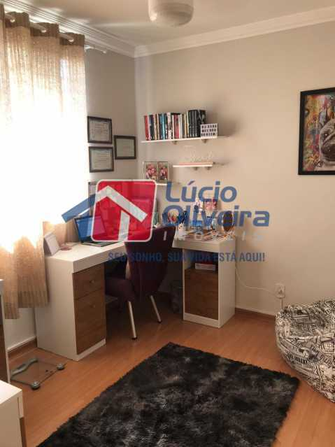 quarto menor. - Apartamento à venda Rua Debussy,Jardim América, Rio de Janeiro - R$ 175.000 - VPAP21520 - 22