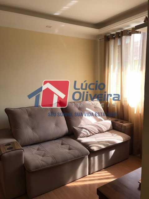 sala 3. - Apartamento à venda Rua Debussy,Jardim América, Rio de Janeiro - R$ 175.000 - VPAP21520 - 24