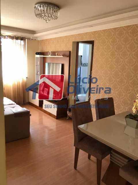 sala 4. - Apartamento à venda Rua Debussy,Jardim América, Rio de Janeiro - R$ 175.000 - VPAP21520 - 3