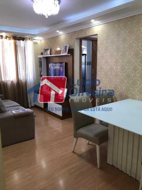 sala 6. - Apartamento à venda Rua Debussy,Jardim América, Rio de Janeiro - R$ 175.000 - VPAP21520 - 4