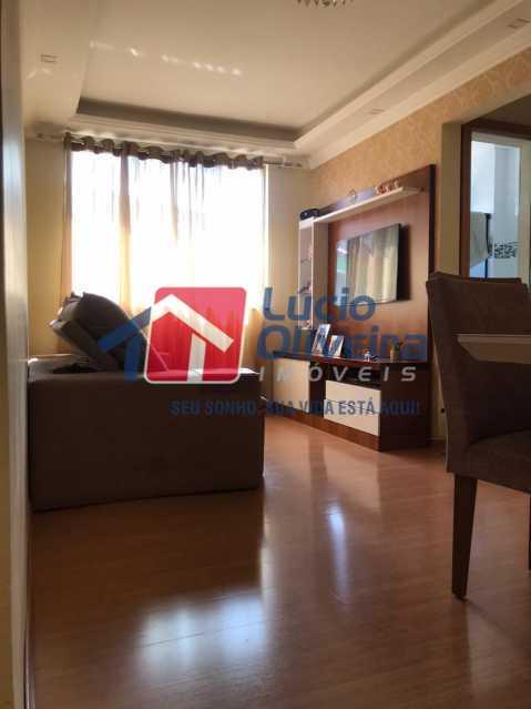 sala. - Apartamento à venda Rua Debussy,Jardim América, Rio de Janeiro - R$ 175.000 - VPAP21520 - 1