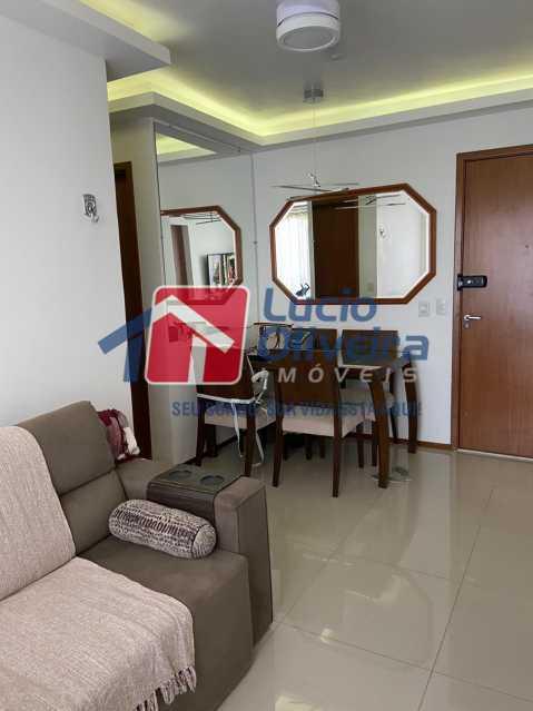 1- Sala ambiente. - Apartamento à venda Rua Fernão Cardim,Del Castilho, Rio de Janeiro - R$ 285.000 - VPAP21521 - 1