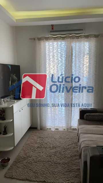 2-Sala ambiente. - Apartamento à venda Rua Fernão Cardim,Del Castilho, Rio de Janeiro - R$ 285.000 - VPAP21521 - 3