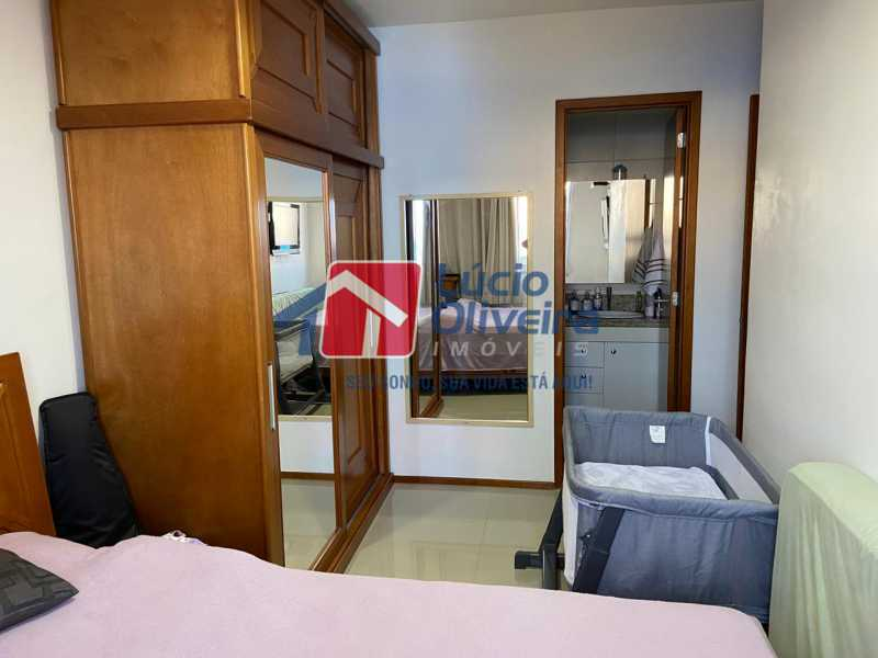5-Quarto Casal Suite. - Apartamento à venda Rua Fernão Cardim,Del Castilho, Rio de Janeiro - R$ 285.000 - VPAP21521 - 6