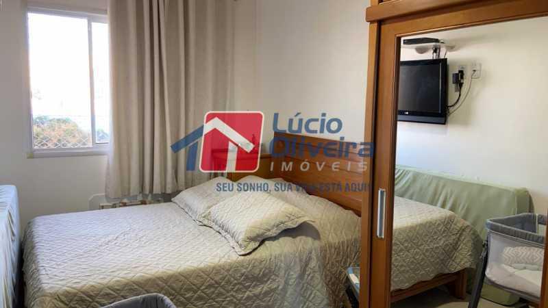 6-Quarto Casal. - Apartamento à venda Rua Fernão Cardim,Del Castilho, Rio de Janeiro - R$ 285.000 - VPAP21521 - 7