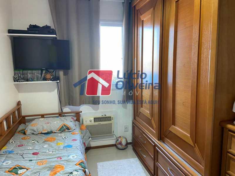 6-Quarto Solteiro. - Apartamento à venda Rua Fernão Cardim,Del Castilho, Rio de Janeiro - R$ 285.000 - VPAP21521 - 8