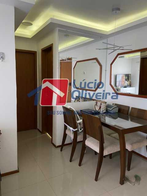 7-Circulação. - Apartamento à venda Rua Fernão Cardim,Del Castilho, Rio de Janeiro - R$ 285.000 - VPAP21521 - 9