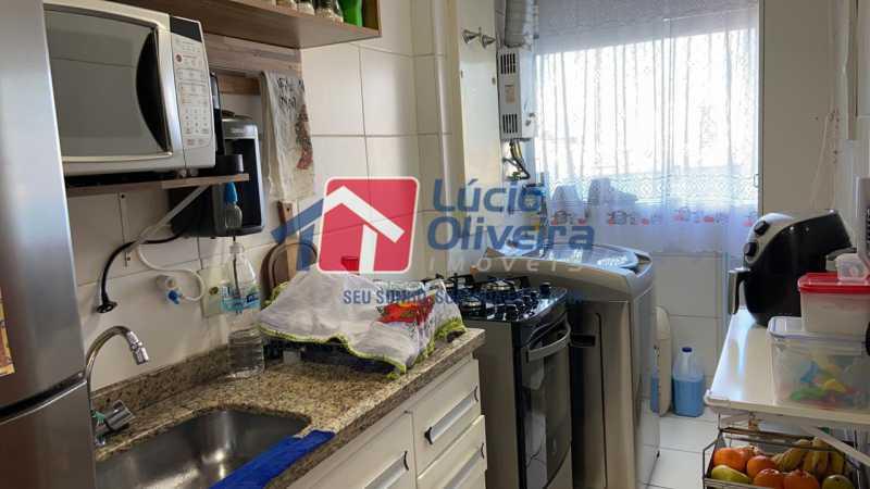9-Area Serviço. - Apartamento à venda Rua Fernão Cardim,Del Castilho, Rio de Janeiro - R$ 285.000 - VPAP21521 - 11