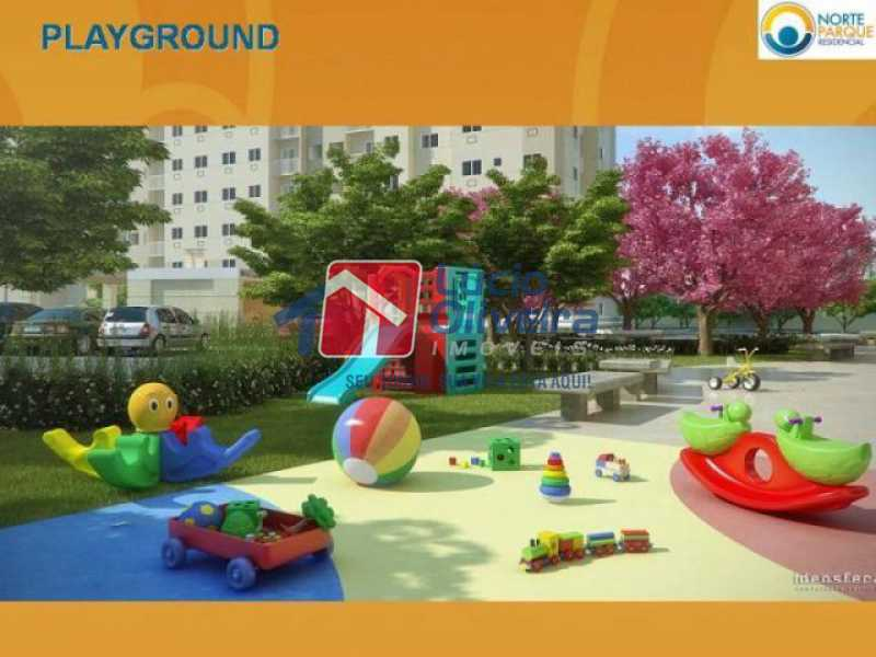 18-Playground. - Apartamento à venda Rua Fernão Cardim,Del Castilho, Rio de Janeiro - R$ 285.000 - VPAP21521 - 20