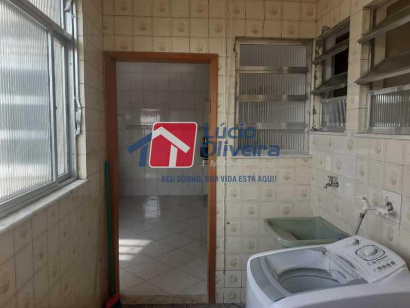 area de serviço 2 - Apartamento à venda Rua do Cajá,Penha, Rio de Janeiro - R$ 240.000 - VPAP21524 - 3