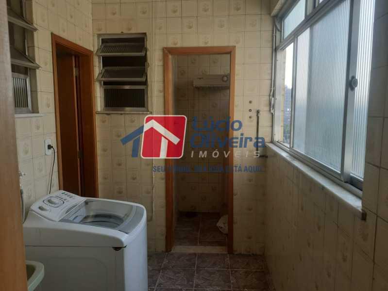 area de serviço - Apartamento à venda Rua do Cajá,Penha, Rio de Janeiro - R$ 240.000 - VPAP21524 - 4