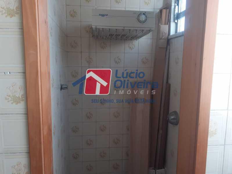 banheiro depedencia - Apartamento à venda Rua do Cajá,Penha, Rio de Janeiro - R$ 240.000 - VPAP21524 - 5
