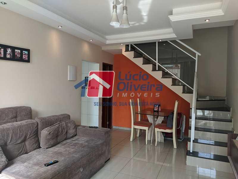 1- Sala - Casa à venda Rua Agrário Menezes,Vicente de Carvalho, Rio de Janeiro - R$ 320.000 - VPCA20287 - 1