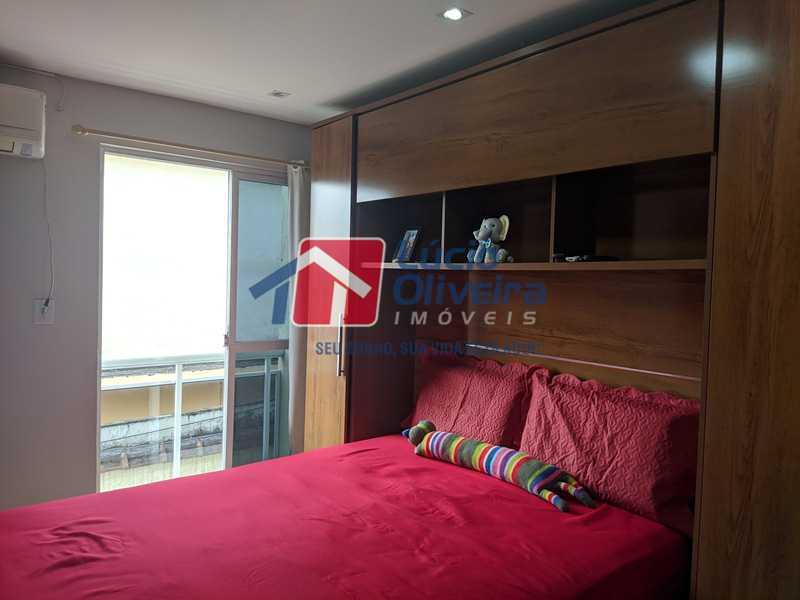 3- Quarto - Casa à venda Rua Agrário Menezes,Vicente de Carvalho, Rio de Janeiro - R$ 380.000 - VPCA20287 - 4