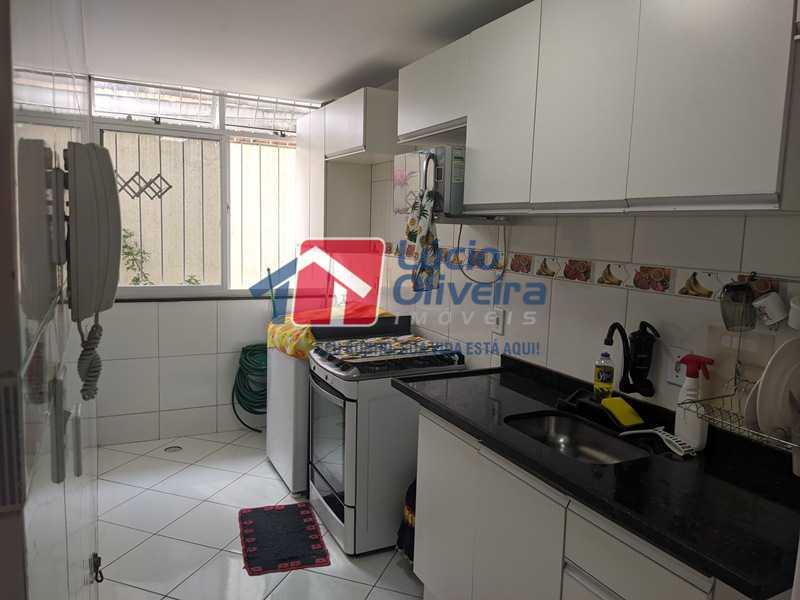5- Cozinha - Casa à venda Rua Agrário Menezes,Vicente de Carvalho, Rio de Janeiro - R$ 320.000 - VPCA20287 - 6