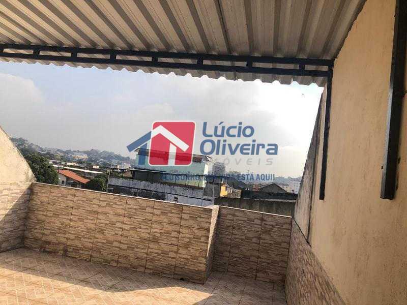 11- Terraço - Casa à venda Rua Agrário Menezes,Vicente de Carvalho, Rio de Janeiro - R$ 380.000 - VPCA20287 - 12