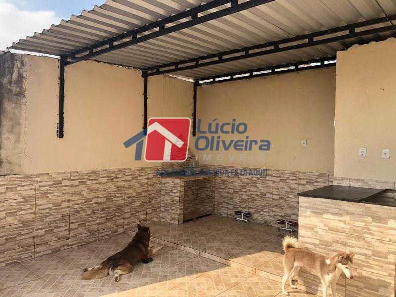 12- Terraço - Casa à venda Rua Agrário Menezes,Vicente de Carvalho, Rio de Janeiro - R$ 380.000 - VPCA20287 - 13