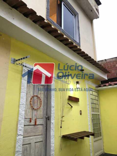 fachada 2. - Casa de Vila 2 quartos à venda Irajá, Rio de Janeiro - R$ 155.000 - VPCV20061 - 3
