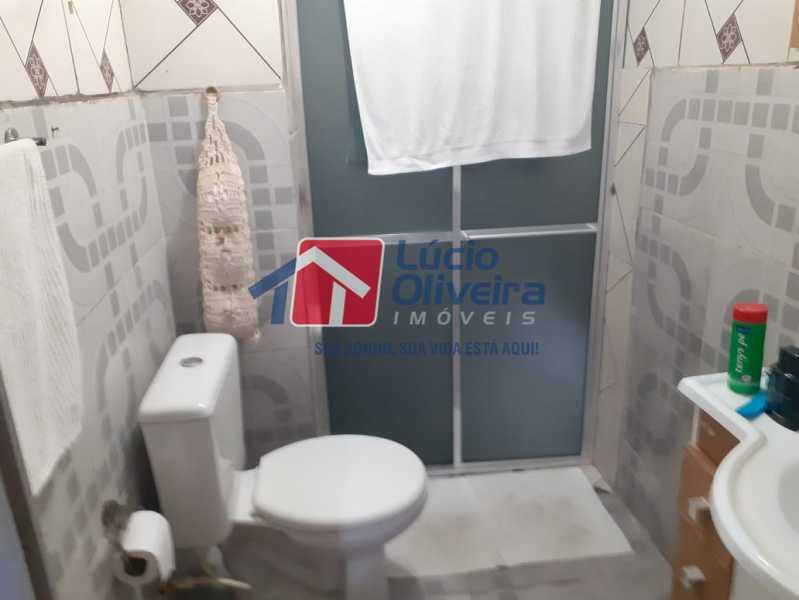 banheiro social - Casa à venda Rua Vaz Lobo,Vaz Lobo, Rio de Janeiro - R$ 170.000 - VPCA20288 - 9