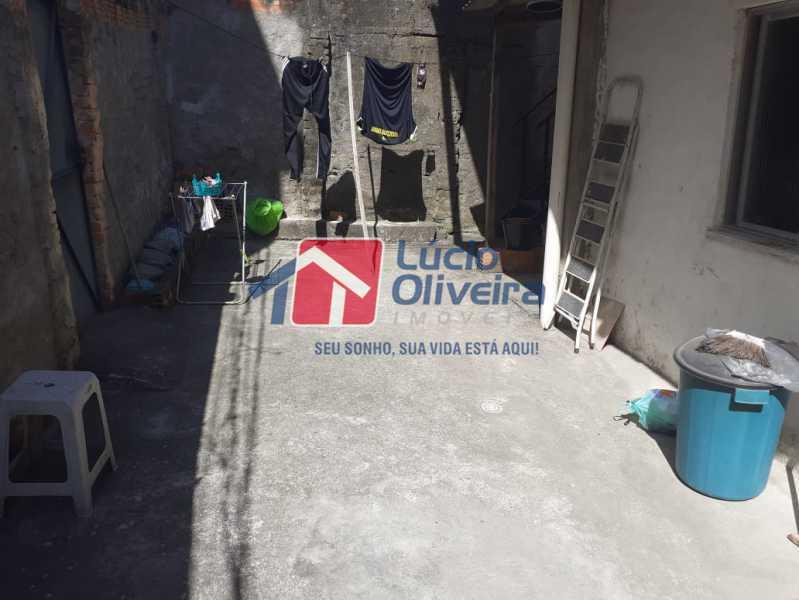 quintal - Casa à venda Rua Vaz Lobo,Vaz Lobo, Rio de Janeiro - R$ 170.000 - VPCA20288 - 14