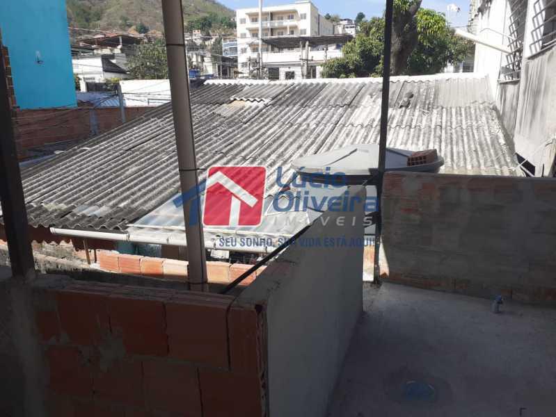 terraço - Casa à venda Rua Vaz Lobo,Vaz Lobo, Rio de Janeiro - R$ 170.000 - VPCA20288 - 17