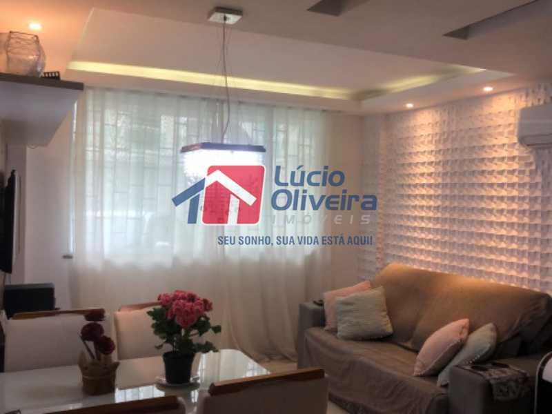 1- Sala - Casa em Condomínio à venda Rua Mário Barbedo,Vila Valqueire, Rio de Janeiro - R$ 599.000 - VPCN30012 - 1