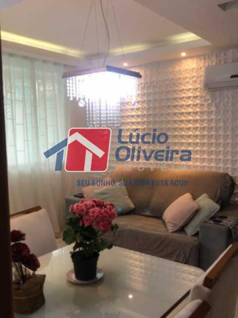 2- Sala - Casa em Condomínio à venda Rua Mário Barbedo,Vila Valqueire, Rio de Janeiro - R$ 599.000 - VPCN30012 - 3