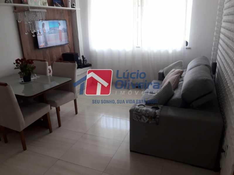 3-sala ambiente - Casa em Condomínio à venda Rua Mário Barbedo,Vila Valqueire, Rio de Janeiro - R$ 599.000 - VPCN30012 - 4