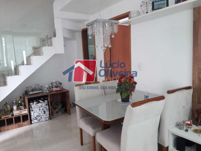 4-Sala jantar - Casa em Condomínio à venda Rua Mário Barbedo,Vila Valqueire, Rio de Janeiro - R$ 599.000 - VPCN30012 - 5