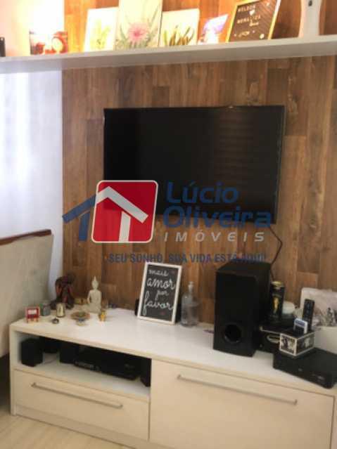 5- Sala - Casa em Condomínio à venda Rua Mário Barbedo,Vila Valqueire, Rio de Janeiro - R$ 599.000 - VPCN30012 - 6