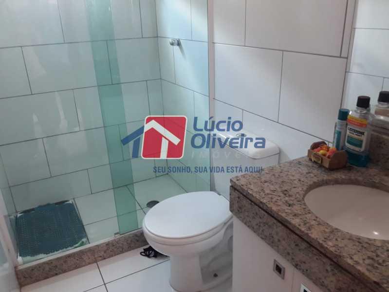10-Banheiro suite - Casa em Condomínio à venda Rua Mário Barbedo,Vila Valqueire, Rio de Janeiro - R$ 599.000 - VPCN30012 - 11