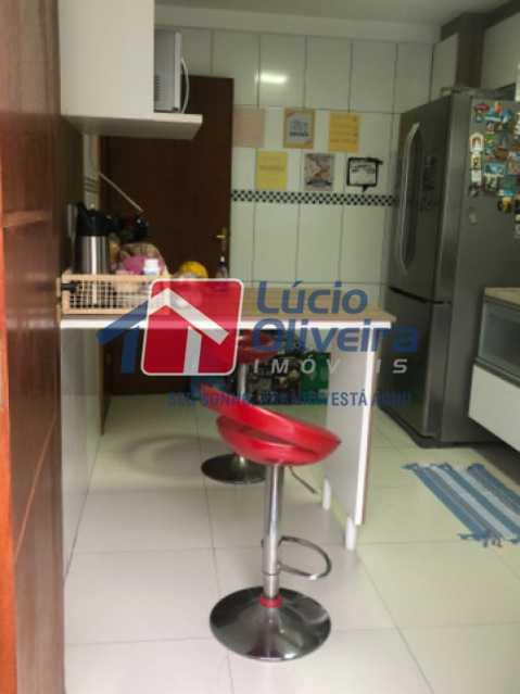 12- Cozinha - Casa em Condomínio à venda Rua Mário Barbedo,Vila Valqueire, Rio de Janeiro - R$ 599.000 - VPCN30012 - 13
