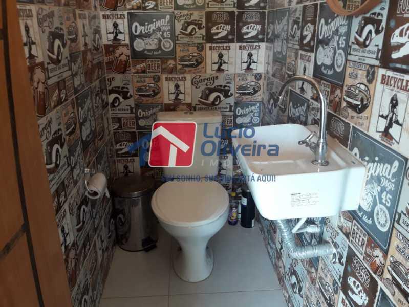 15-Banheiro Area Gourmet - Casa em Condomínio à venda Rua Mário Barbedo,Vila Valqueire, Rio de Janeiro - R$ 599.000 - VPCN30012 - 16