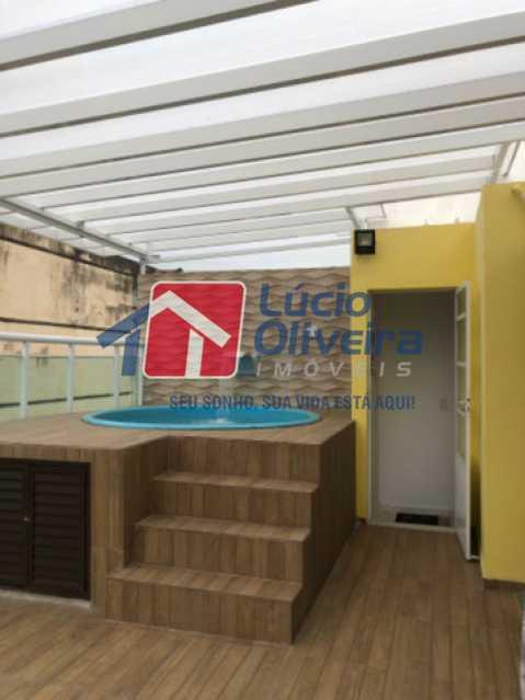 16- Piscina - Casa em Condomínio à venda Rua Mário Barbedo,Vila Valqueire, Rio de Janeiro - R$ 599.000 - VPCN30012 - 17