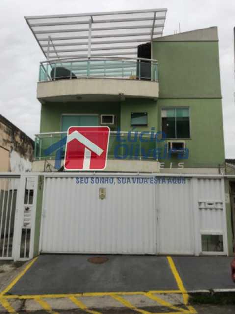 20- Fachada - Casa em Condomínio à venda Rua Mário Barbedo,Vila Valqueire, Rio de Janeiro - R$ 599.000 - VPCN30012 - 21
