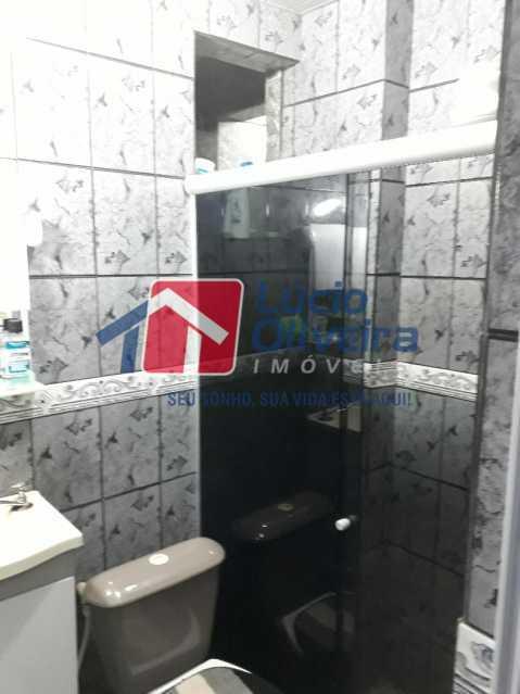 13-Banheiro scoial - Apartamento à venda Rua Ururai,Coelho Neto, Rio de Janeiro - R$ 135.000 - VPAP21528 - 14