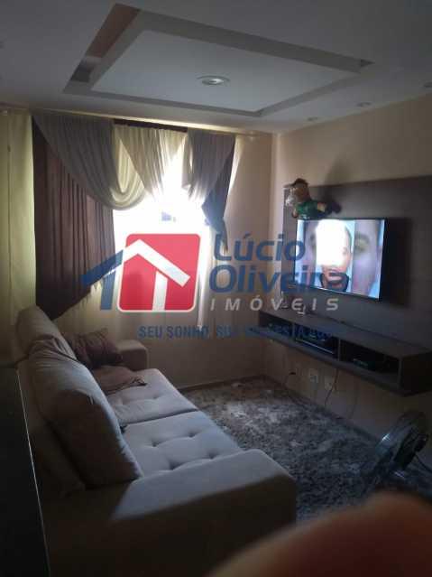 1- Sala ambiente - Apartamento 2 quartos à venda Guadalupe, Rio de Janeiro - R$ 170.000 - VPAP21533 - 3