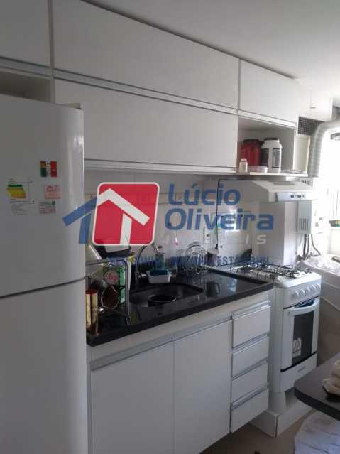 5-Cozinha planejada - Apartamento 2 quartos à venda Guadalupe, Rio de Janeiro - R$ 170.000 - VPAP21533 - 7