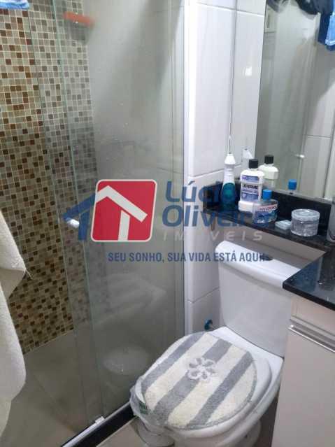 7-Banheiro social com blindex - Apartamento 2 quartos à venda Guadalupe, Rio de Janeiro - R$ 170.000 - VPAP21533 - 9