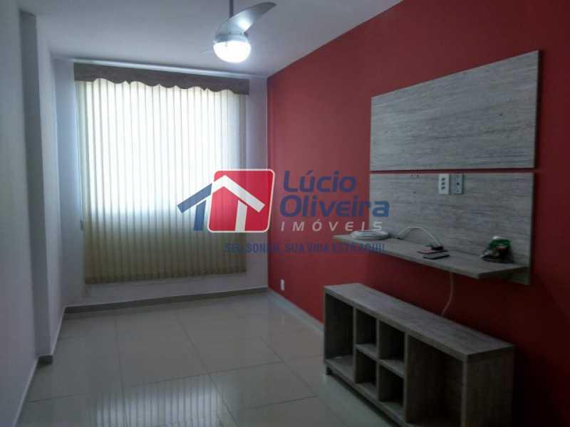 02 Sala ; - Apartamento 2 quartos à venda Campinho, Rio de Janeiro - R$ 235.000 - VPAP21537 - 3
