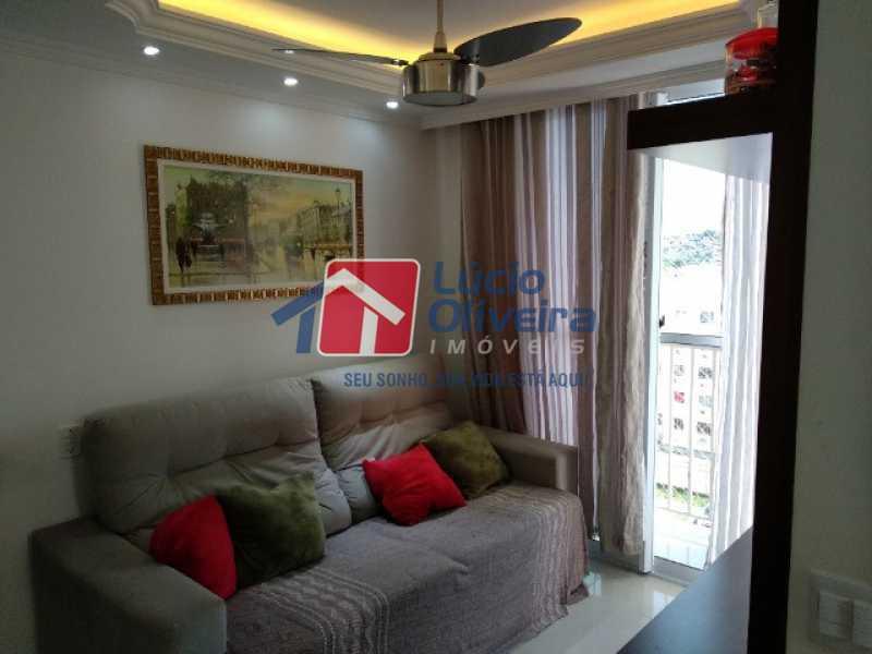 2- Sala ambiente - Apartamento 2 quartos à venda Rocha Miranda, Rio de Janeiro - R$ 255.000 - VPAP21540 - 3