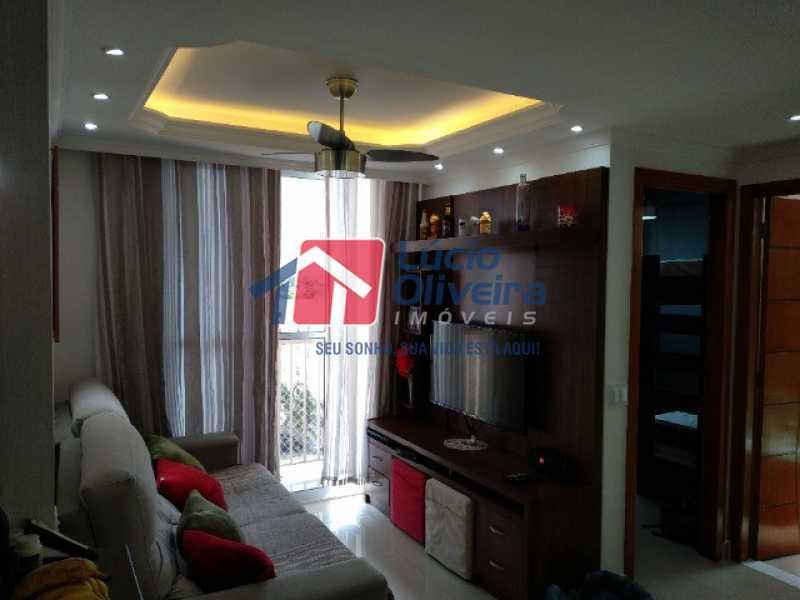 3- Sala ambiente e varanda - Apartamento 2 quartos à venda Rocha Miranda, Rio de Janeiro - R$ 255.000 - VPAP21540 - 4