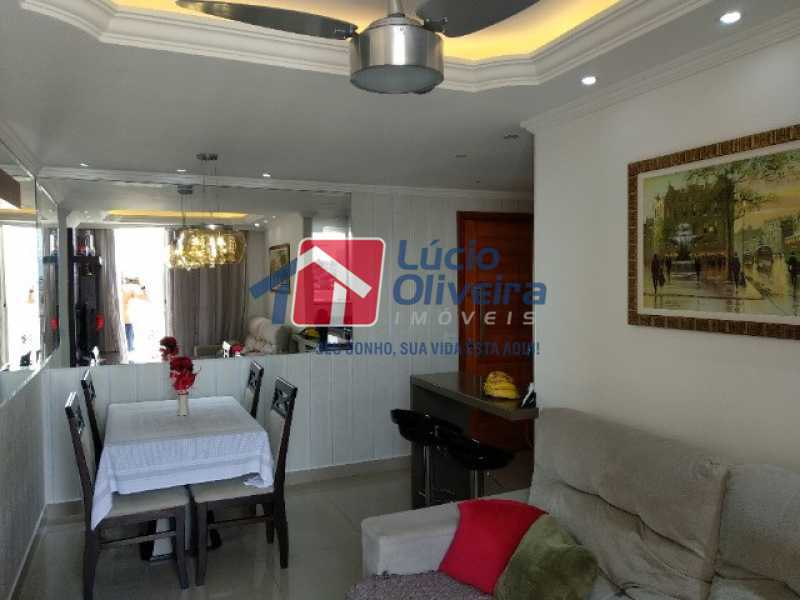 4-Sala ambiente ... - Apartamento 2 quartos à venda Rocha Miranda, Rio de Janeiro - R$ 255.000 - VPAP21540 - 5