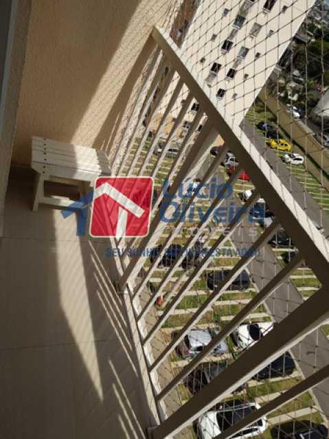 8-Varanda - Apartamento 2 quartos à venda Rocha Miranda, Rio de Janeiro - R$ 255.000 - VPAP21540 - 9