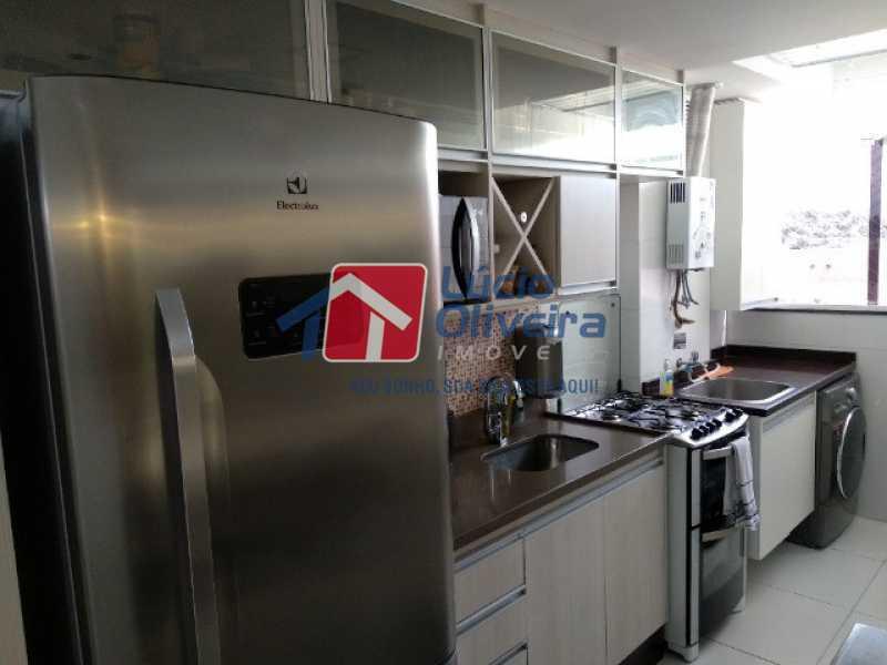 9-Cozinha planejadissima - Apartamento 2 quartos à venda Rocha Miranda, Rio de Janeiro - R$ 255.000 - VPAP21540 - 10