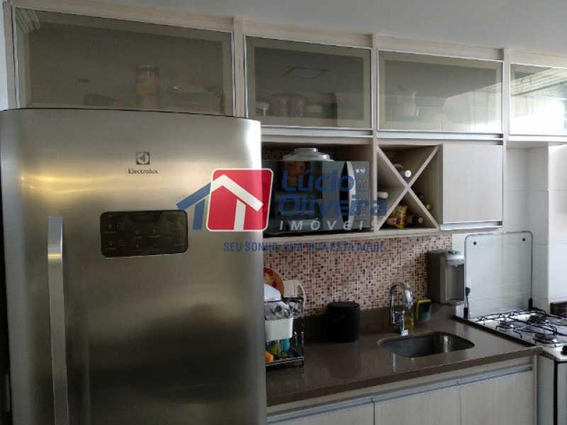 10-Cozinha armarios suspensos - Apartamento 2 quartos à venda Rocha Miranda, Rio de Janeiro - R$ 255.000 - VPAP21540 - 11