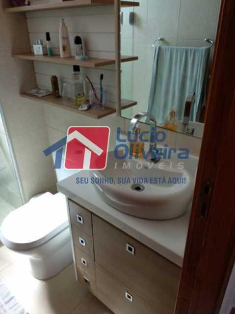 11-Banheiro social armarios - Apartamento 2 quartos à venda Rocha Miranda, Rio de Janeiro - R$ 255.000 - VPAP21540 - 12