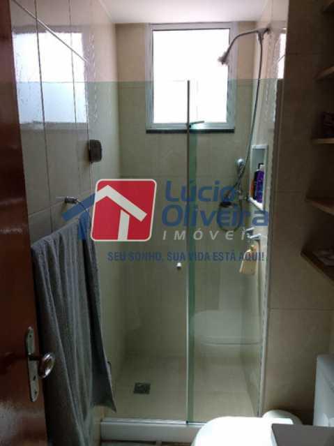 12-Banheiro social blindex - Apartamento 2 quartos à venda Rocha Miranda, Rio de Janeiro - R$ 255.000 - VPAP21540 - 13