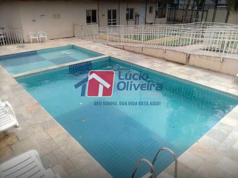 15-Piscina - Apartamento 2 quartos à venda Rocha Miranda, Rio de Janeiro - R$ 255.000 - VPAP21540 - 16